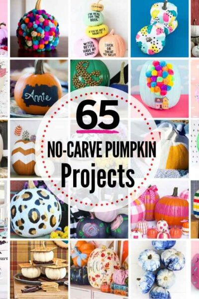 65 PRIZE-WORTHY No-Carve Pumpkin Decorating Ideas!