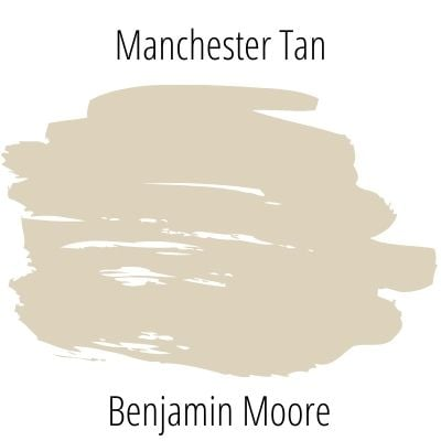 color swatch of manchester tan from benjamin moore
