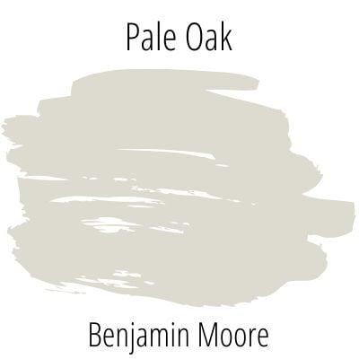 Benjamin Moore Pale Oak Paint Swatch