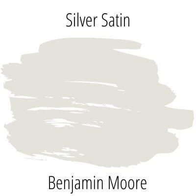 Silver Satin by Benjamin Moore
