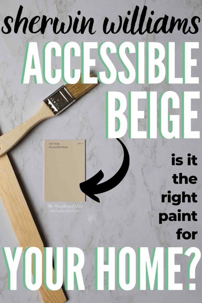 accessible beige on a marble background