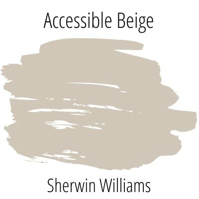 Sherwin Williams accessible beige color