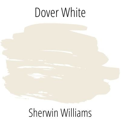Dover White color swatch
