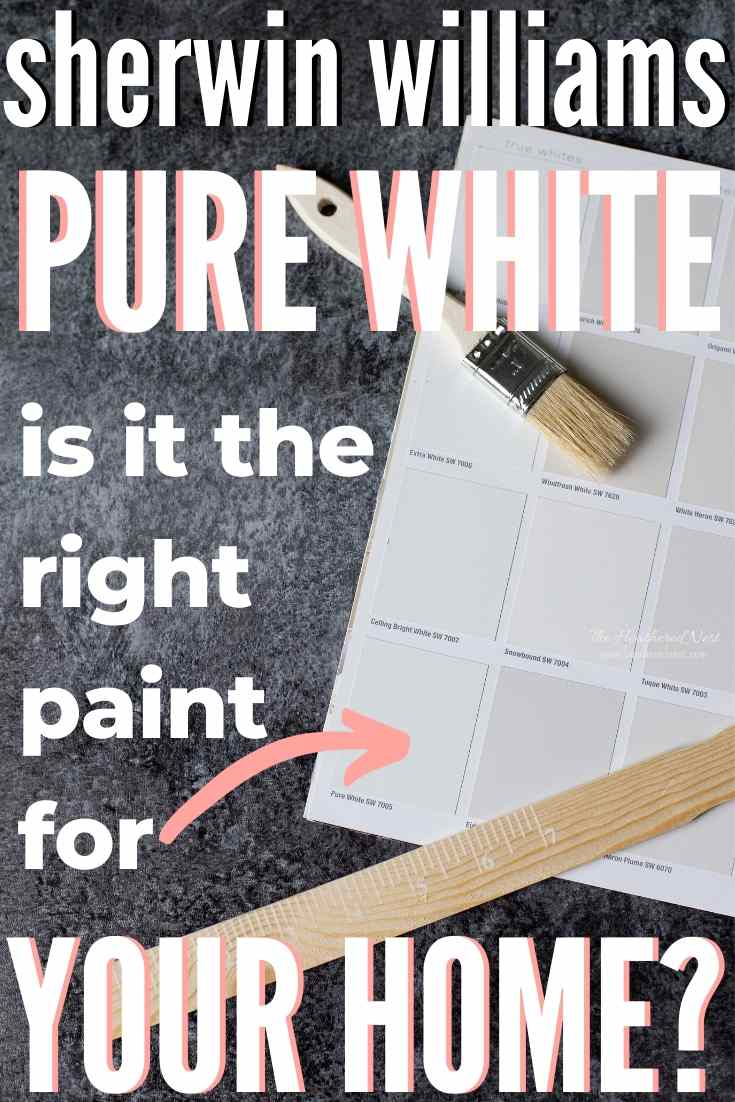 Pure white swatched next to other shades of white