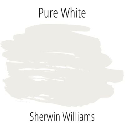 Sherwin Williams Pure White color swatch