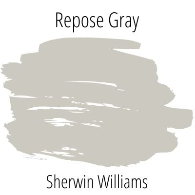 Repose gray color swatch
