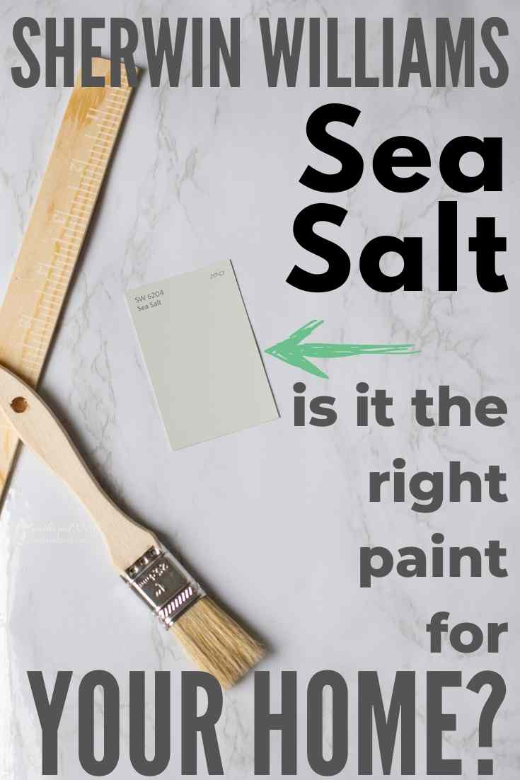 Sherwin Williams Sea Salt SW-6204 Is it the perfect paint shade for your home? Let's find out...