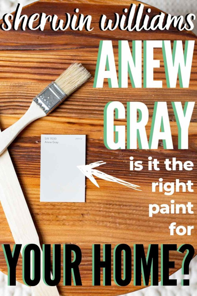 pinterest image for sherwin williams anew gray, is it the right paint for your home?