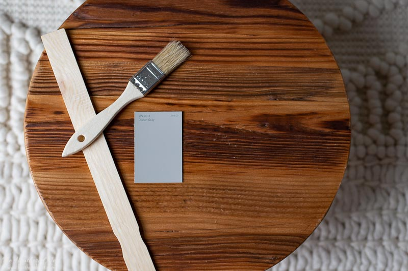 Dorian gray paint swatch by sherwin williams