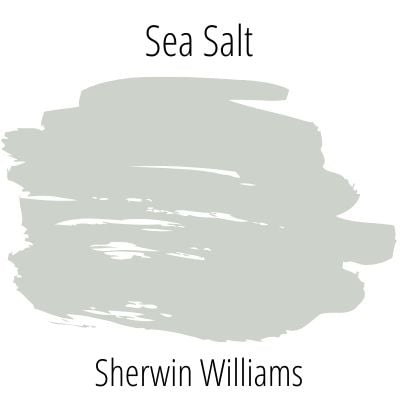 Sherwin Williams Sea Salt Swatch SW 6204