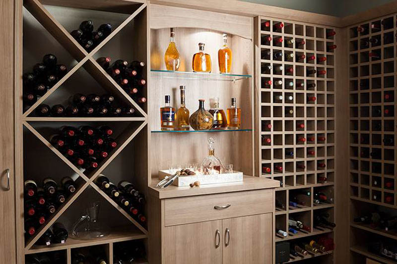 Wine Storage Ideas: Cabinetry & Cellar Solutions for Any Sized Space from Organized Interiors