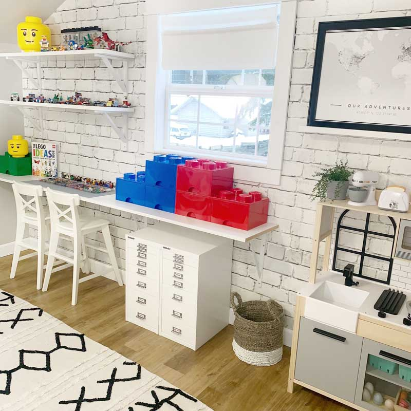 Lego Storage: Organizing with the Container Store