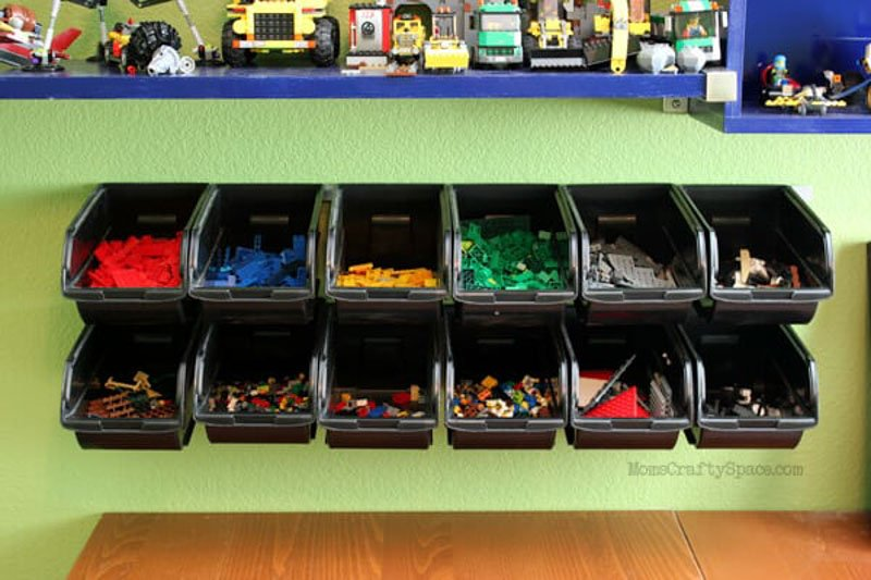 Cheap & Easy Lego Storage Organizer