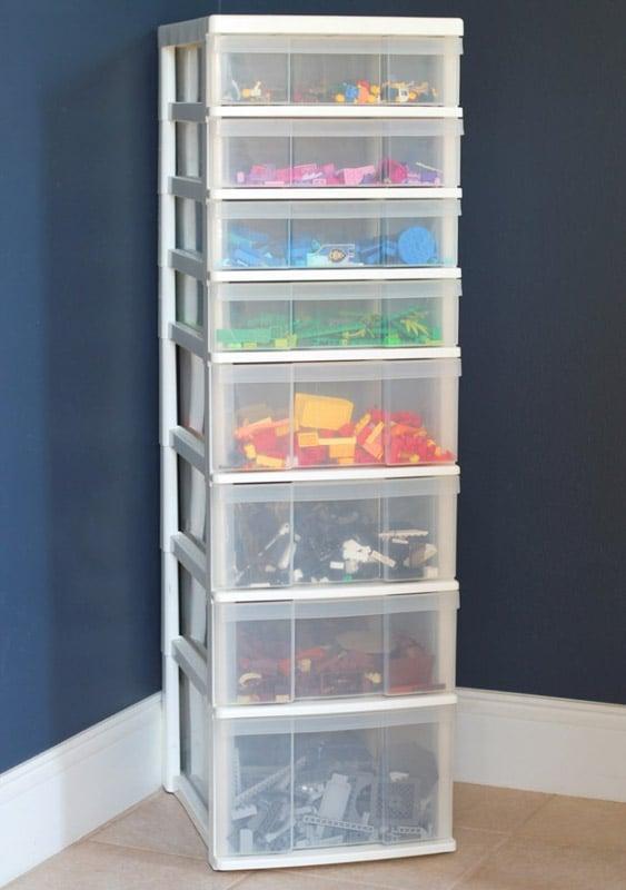 Simple Lego Storage System