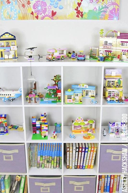 Lego Storage and Display Ideas