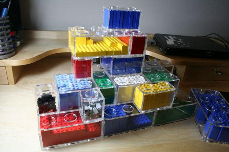 Good and bad Lego storage ideas