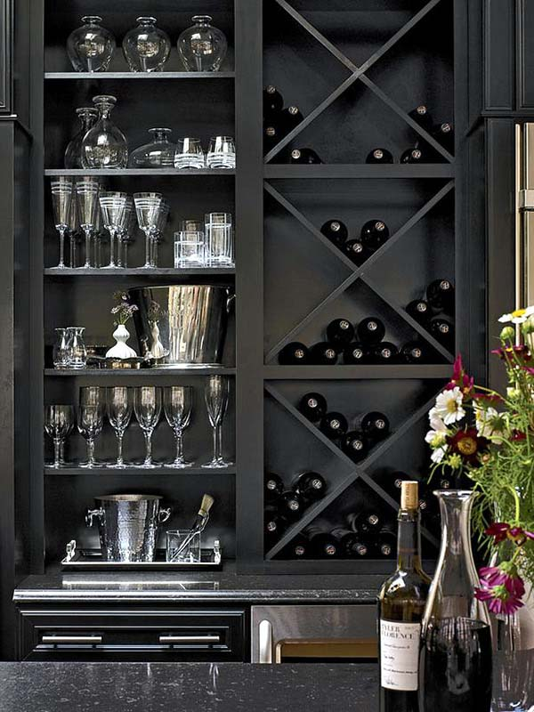 20 Ideas for Wine Racks Can Build Yourself - Wine Storage at Home from Of Design