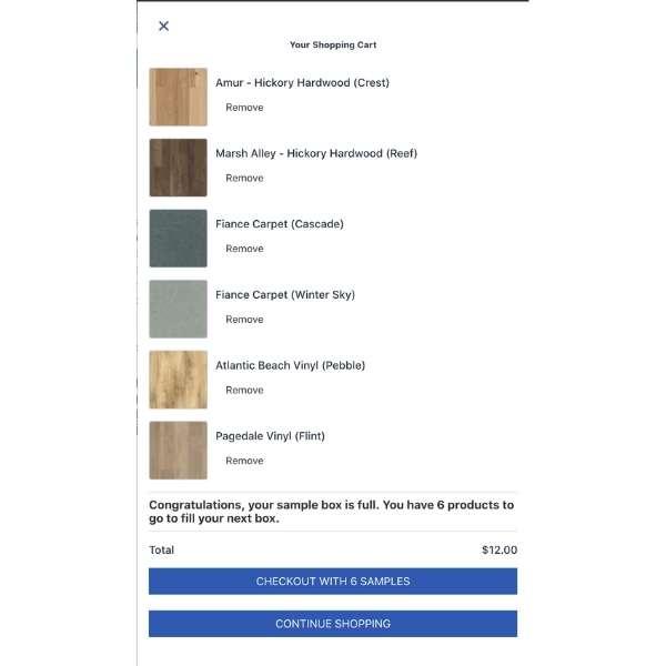 shopping for flooring samples online at flooring america