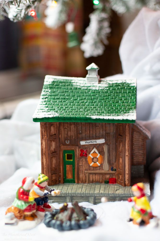 DIY Dept 56 Christmas village set!