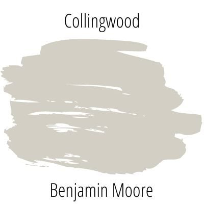 Collingwood paint swatch by benjamin moore