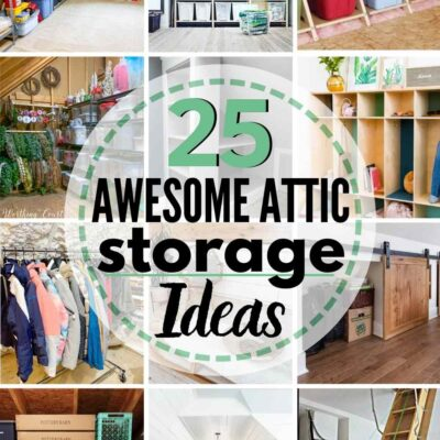 25 Awesome Attic Storage Ideas
