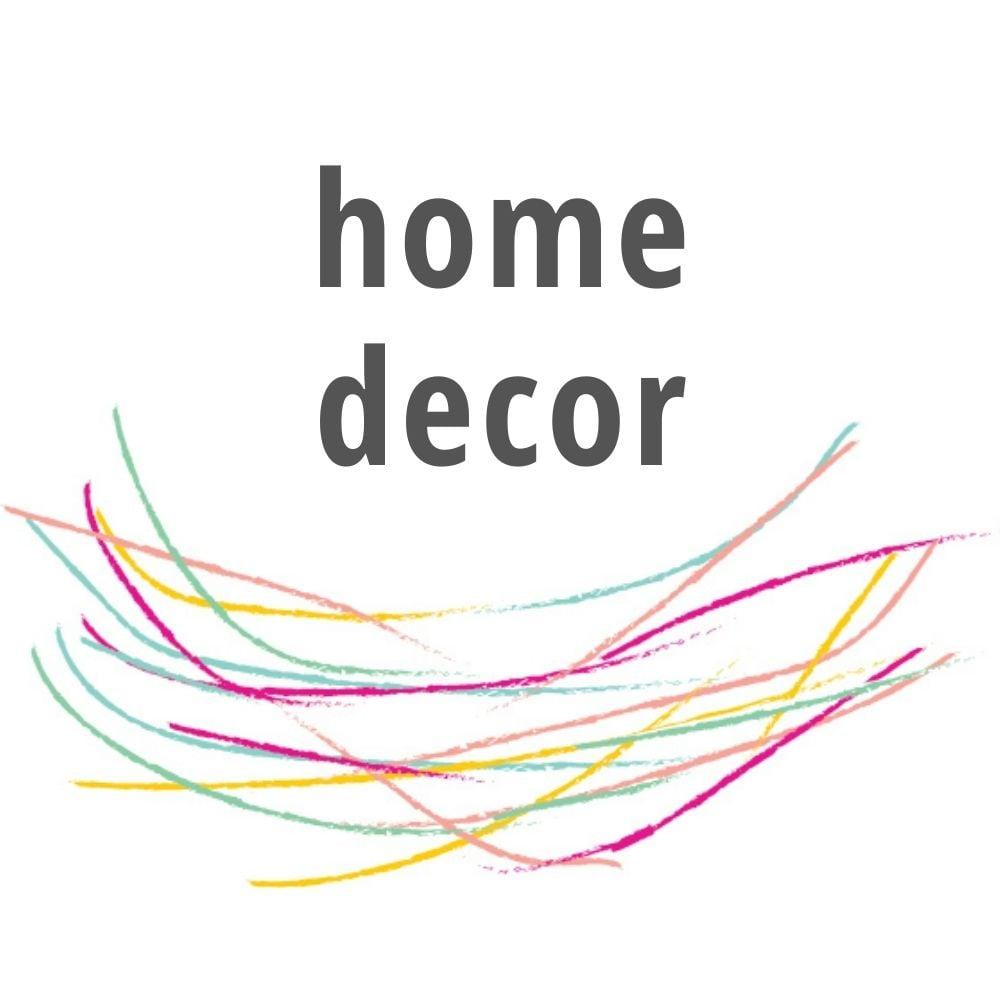 text home decor inside line drawn nest