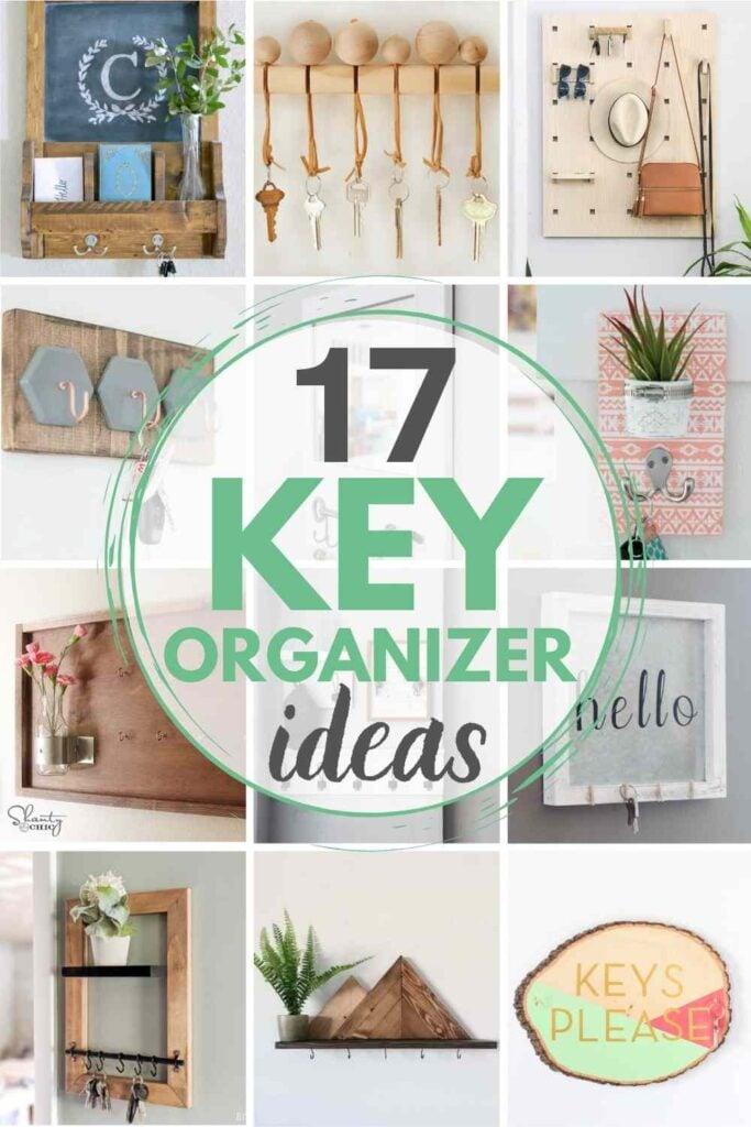 grid with 12 key organizer ideas