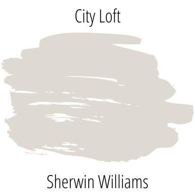 paint swatch Sherwin Williams City Loft